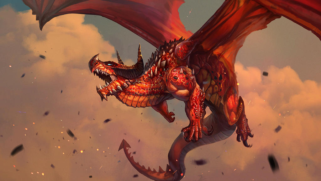 Dragon by largee17