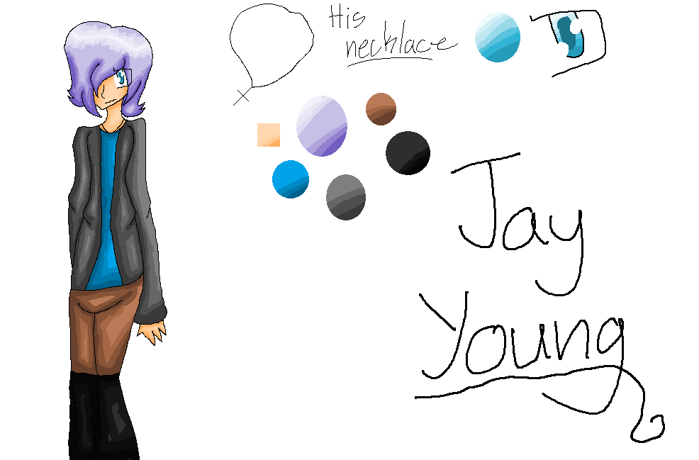 Jay Young :REF: by Bonnieart04