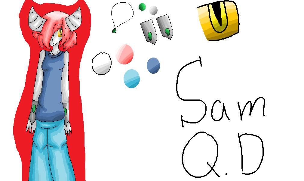 Sam Q.D : Ref: by Bonnieart04