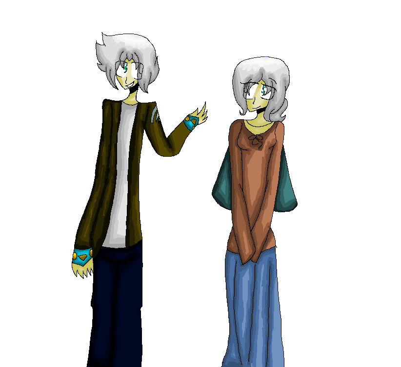 Reymend and his Mother :RQ: by Bonnieart04
