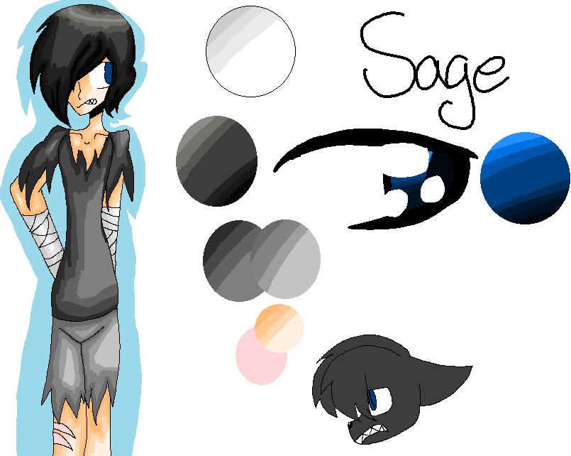 Sage Locks :REF: by Bonnieart04