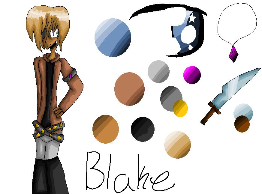 Blake :REF: by Bonnieart04