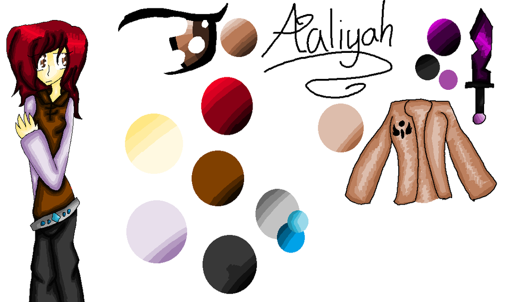 Aaliyah :REF: by Bonnieart04