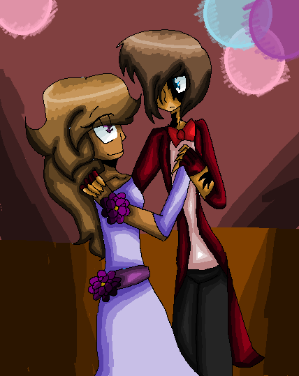 The ender and the girl by Bonnieart04