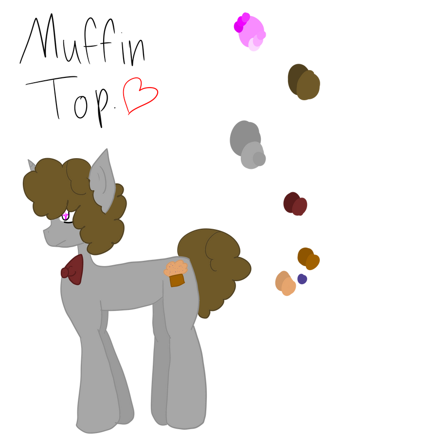 Muffin Top :MLP OC: :REF: by Bonnieart04