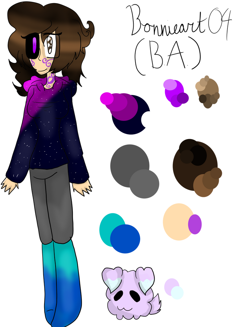 NEW PERSONA AND COOKIE PUPPY :REF: by Bonnieart04