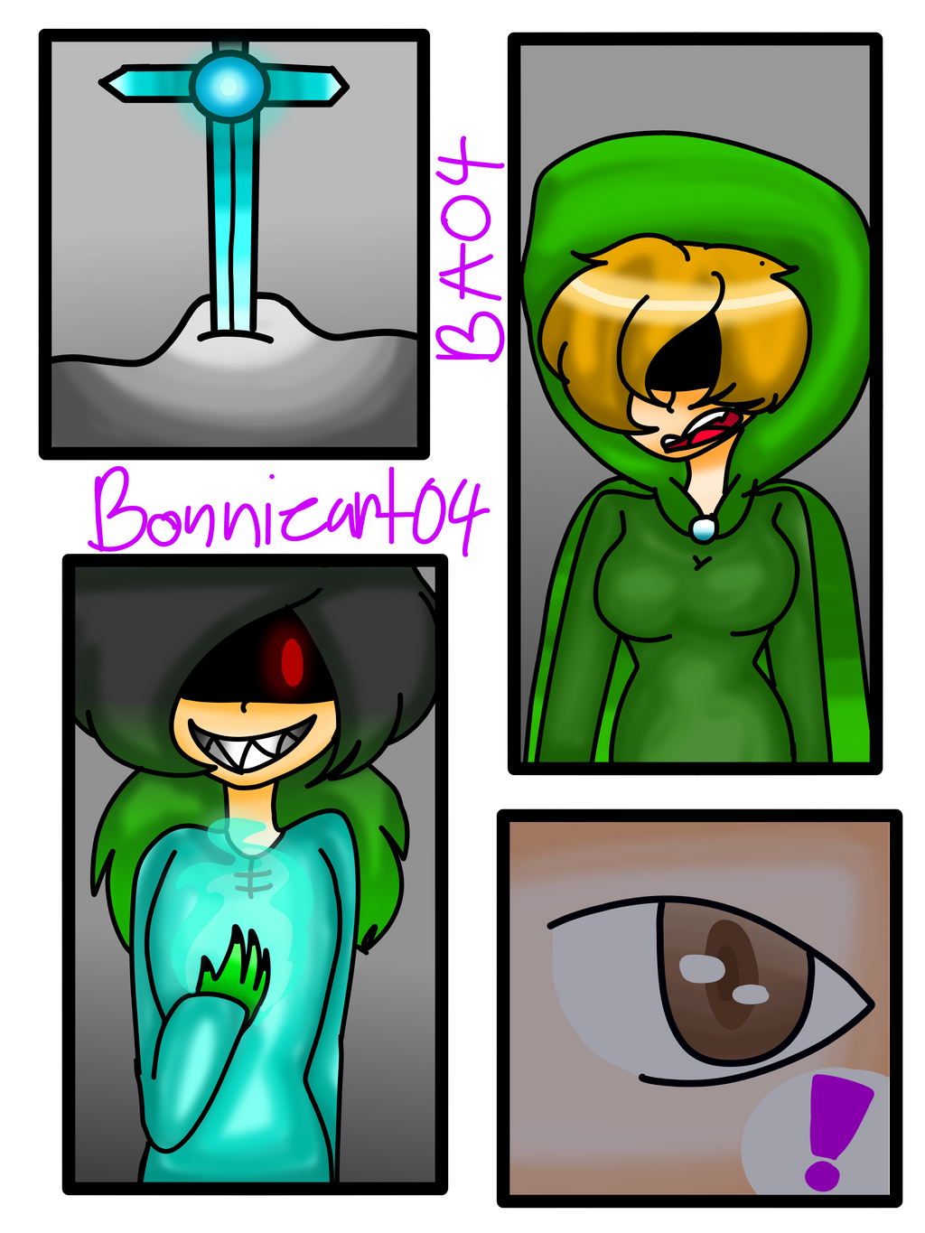 The 4 Heroes Page 1 by Bonnieart04