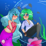 Fishly love by Bonnieart04