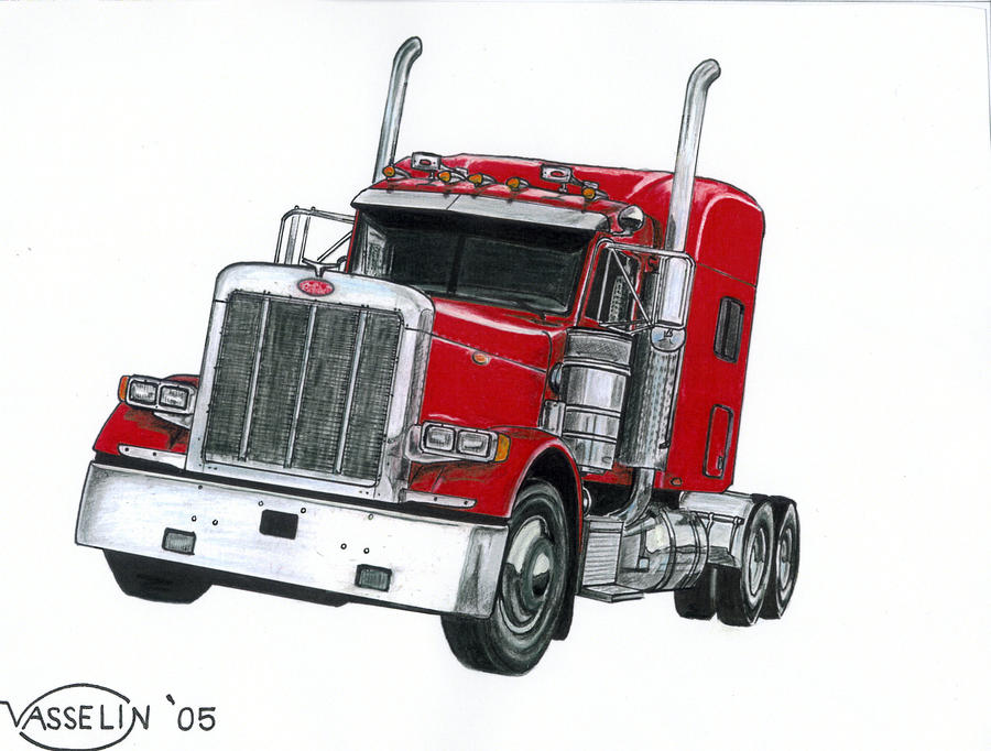 2005 peterbilt truck by who515 on deviantart