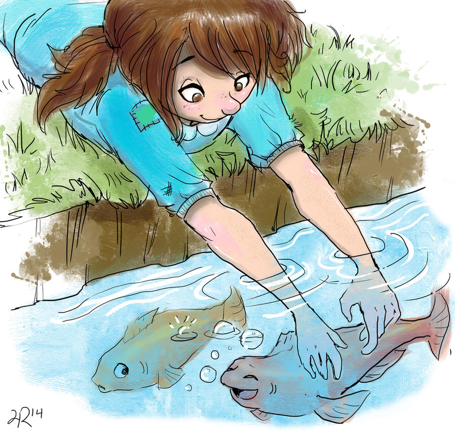 [Image: tiffany_tickling_the_fish_by_amianna-d8bywy3.jpg]