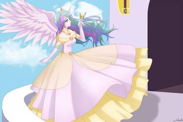 Princess Celestia by SrtaGiuu