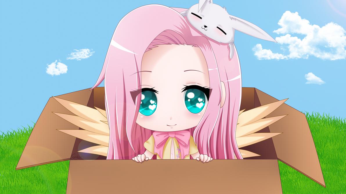 Fluttershy Chibi by SrtaGiuu