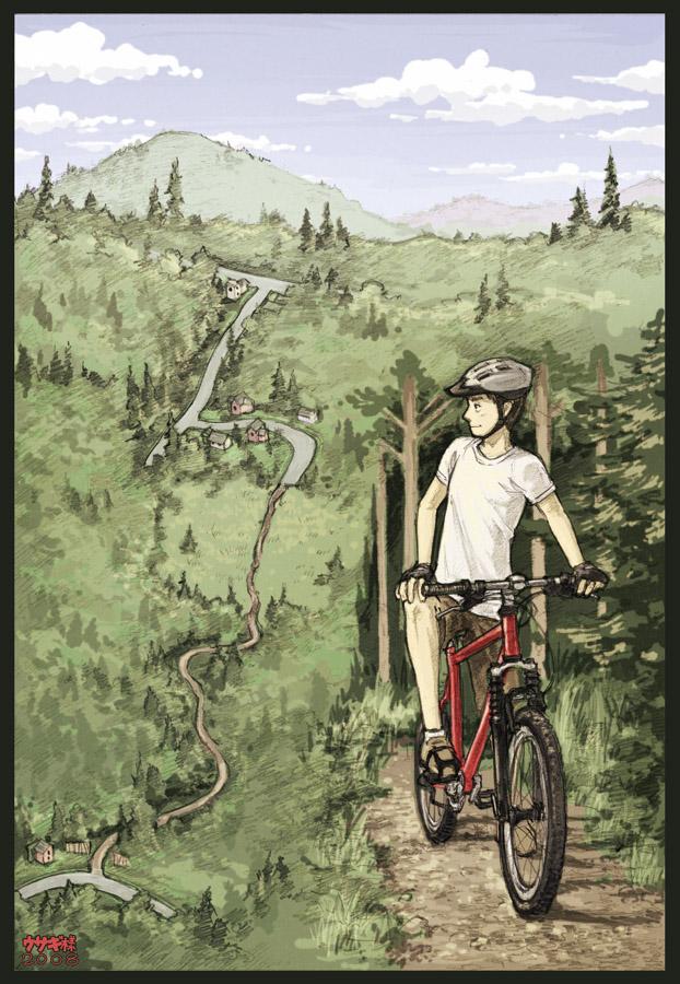 Downhill Ride by Usagisama