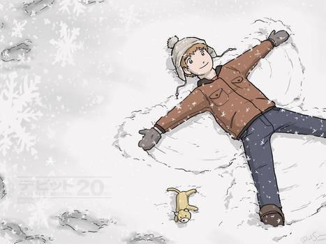 Childhood Snow Day