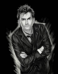 Sketchbook Series: The 10th Doctor