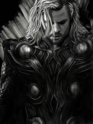 Sketchbook Series: Thor by fneh