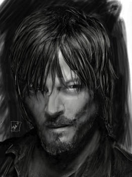 Sketchbook Series: Daryl Dixon