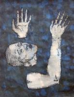 Drowning man by DawidZdobylak