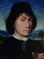 Portrait of a Man with a Roman Medal by DawidZdobylak