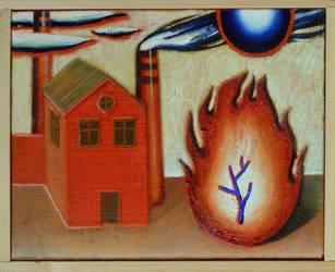 Burning Brush by DawidZdobylak