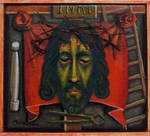 Christ and the instruments of the Passion by DawidZdobylak