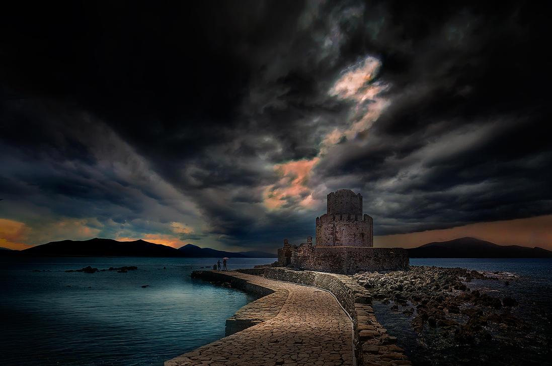 Methoni Castle by sui400