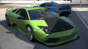 Lamborghini and Honda at Gemasolar