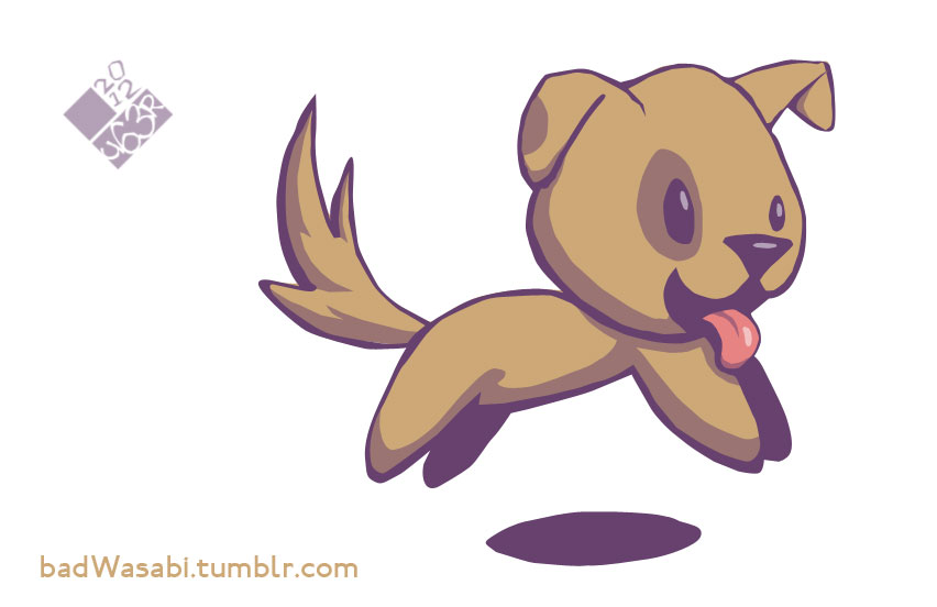 20120203 puppy by Jon-Wood