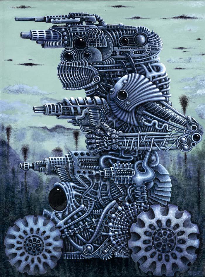 WAR MACHINE 01 by RSConnett