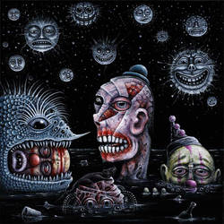 NIGHT of the DROWNING CLOWNS by RSConnett