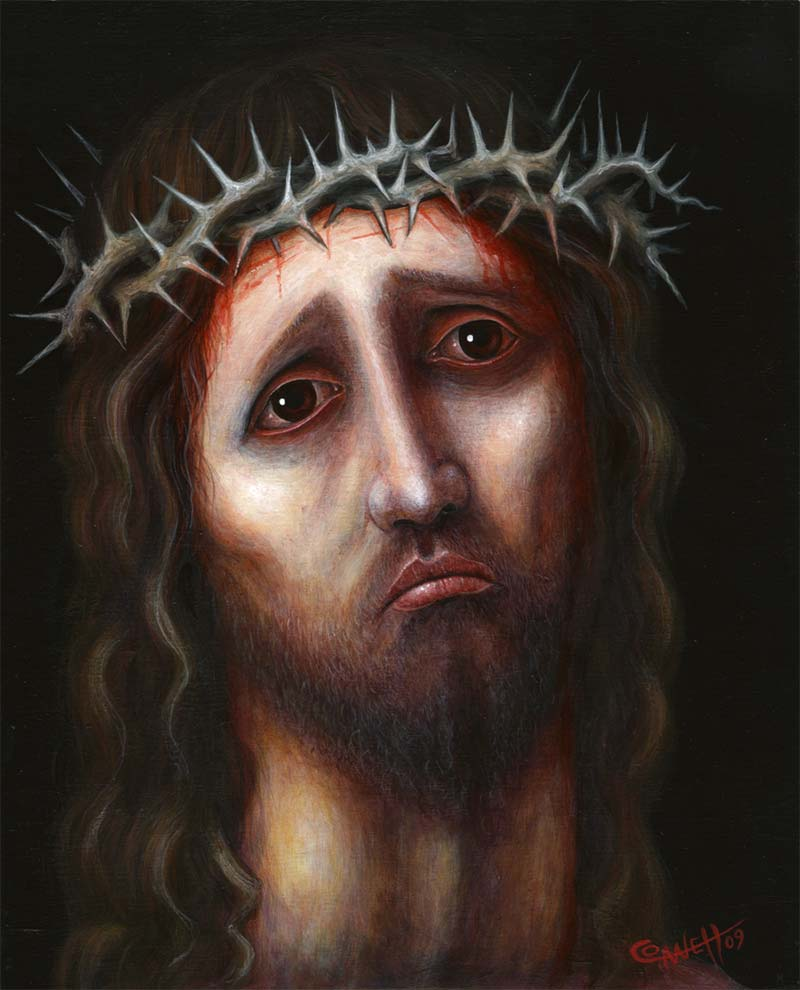 Christ Portrait 4 by RSConnett