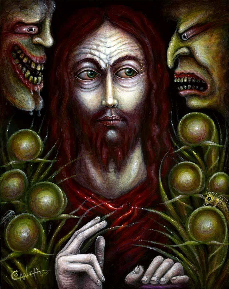 CHRIST SUFFERING FOOLS