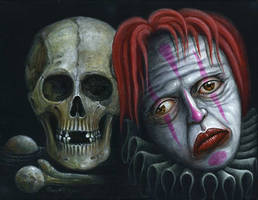 DEATH and the CLOWN by RSConnett