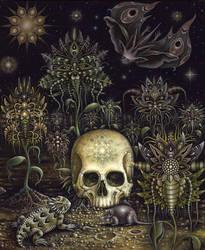 Cemetery Flowers by RSConnett