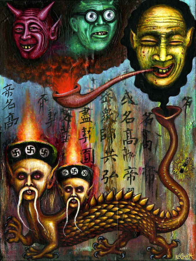 SPIRITS of the OPIUM DRAGON by RSConnett