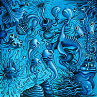 MICROBIA 1, in BLUE by RSConnett