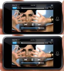 iPod Touch Photoshop Mockup