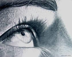 Eye Drawing by halfwayglad