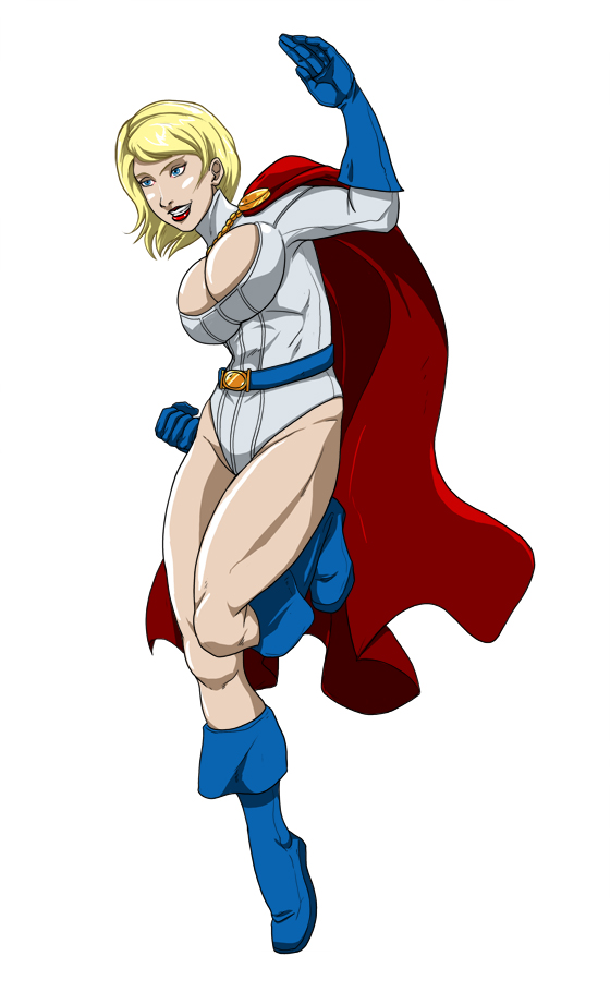 Powergirl by cheshirecat313
