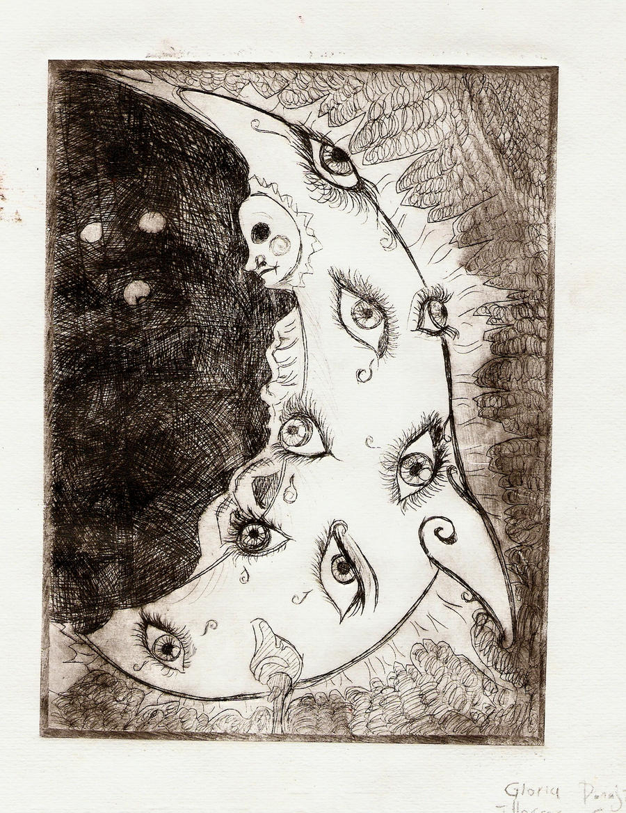 Luna marina by Gloriecilla
