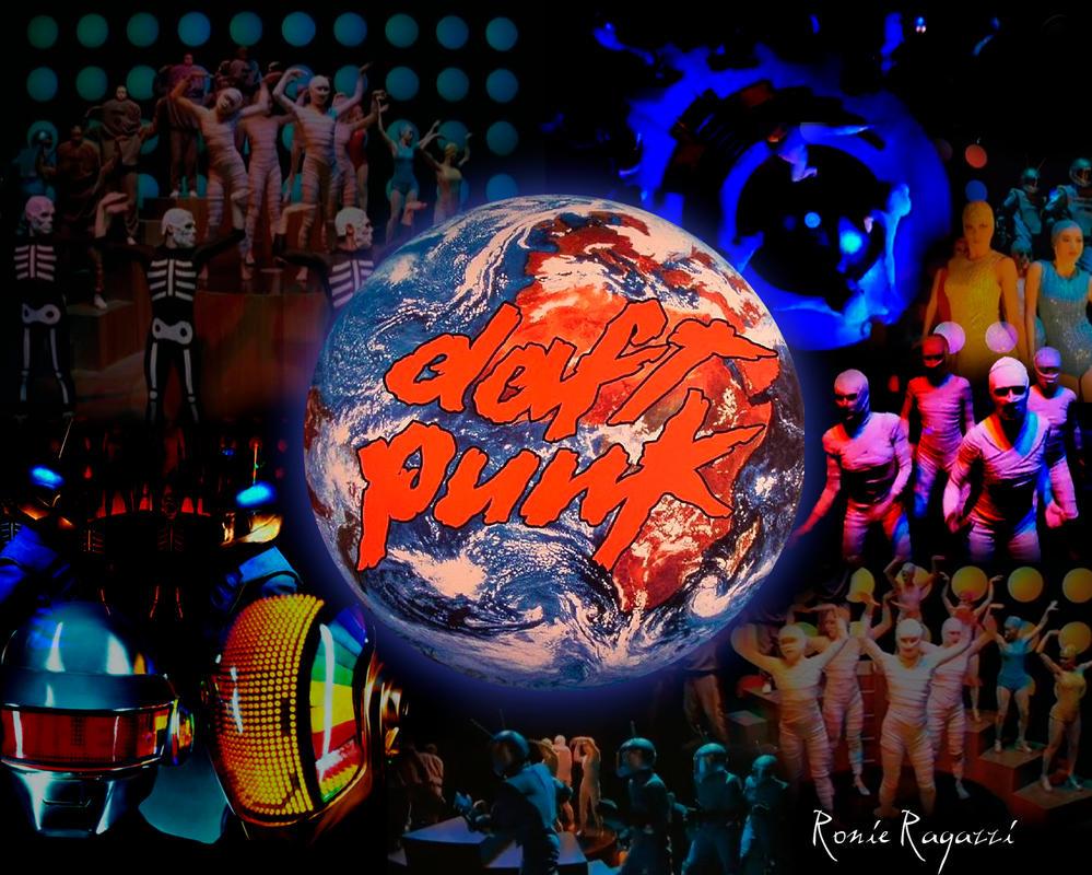 Daft Punk - Around The World by ronieragazzi on deviantART