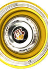 '49 Olds 88 hubcap