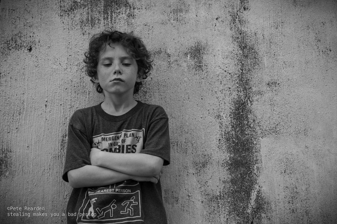 little tough guy by Che-Gue-Petey