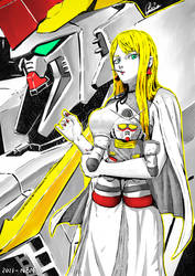 Gigi Andalucia - Gundam Hathaway's Flash