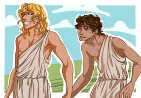 Greeks by Motimerri