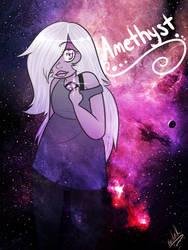 Steven Universe: Amethyst by KiraNohara