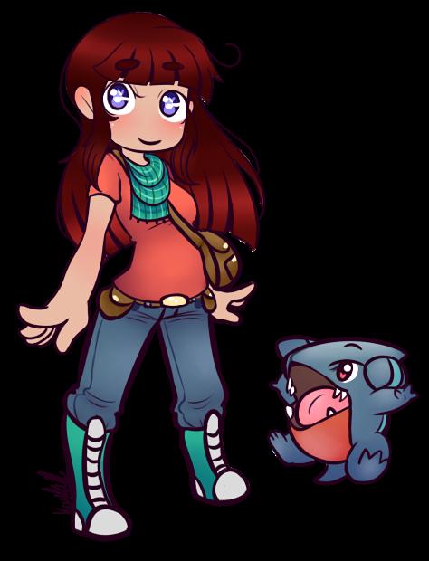 Chibi ass pokemon trainer trash lol by KiraNohara