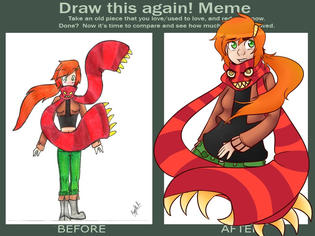 Draw This Again Meme by KiraNohara