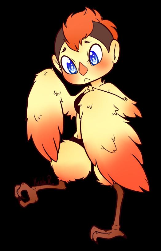 Cute Birb Girly by KiraNohara