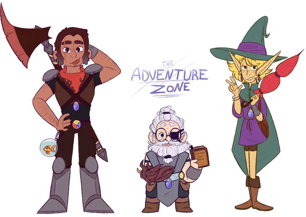 the adventure zone dem bois by kiranohara on deviantart
